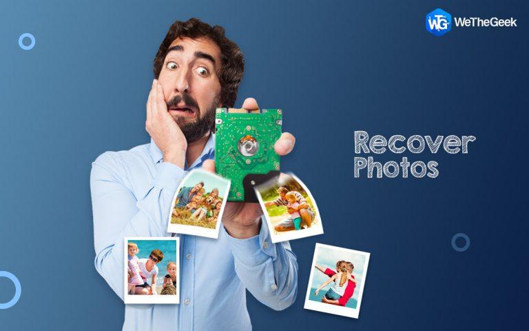 Как восстановить фотографии после потери данных (обновлено 2021 г.)