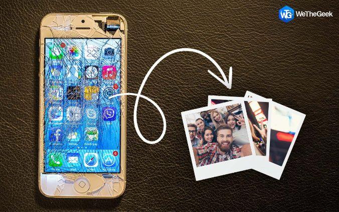 Как восстановить фотографии с мертвого / сломанного iPhone