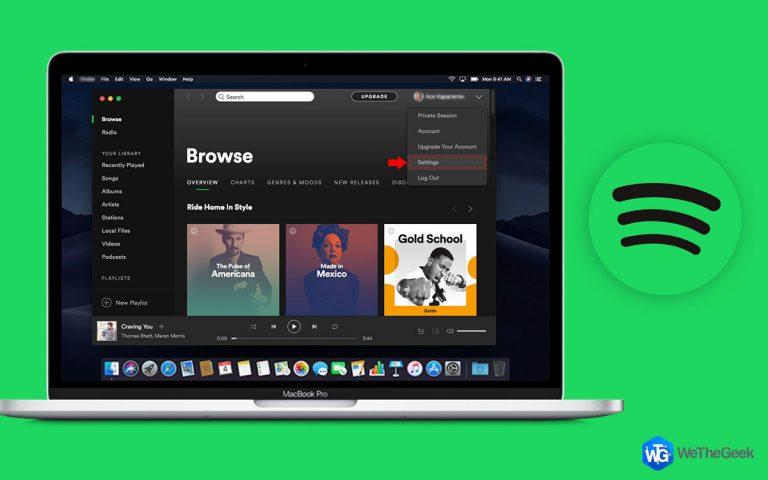 Как остановить запуск Spotify при запуске Windows