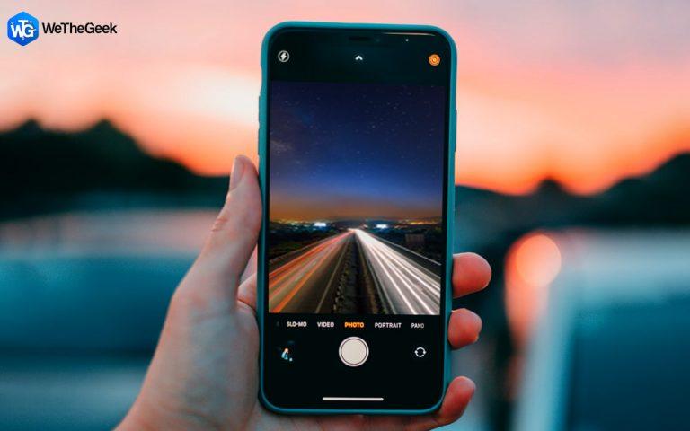 Как делать фотографии с длинной выдержкой на iPhone