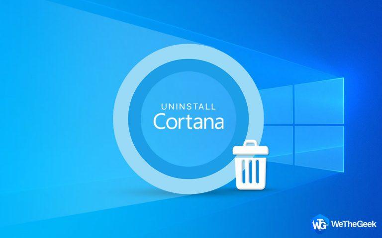Как полностью удалить Кортану с ПК с Windows 10 (2021 г.)