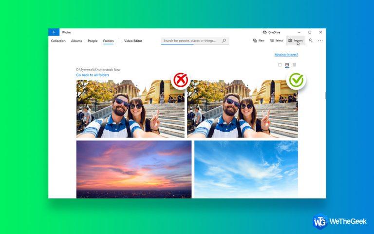 Как использовать приложение Microsoft по умолчанию «Фотографии» для удаления дубликатов?