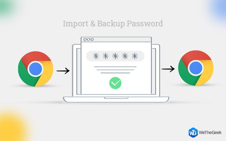 Как импортировать и резервировать сохраненные пароли в Google Chrome