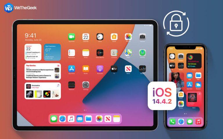 Обновите свои устройства Apple до iOS 14.4.2.  & Исправить уязвимость Zero-Day WebKit