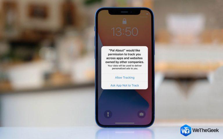 Ограничение отслеживания рекламодателями на iPhone и iPad (2021 г.)