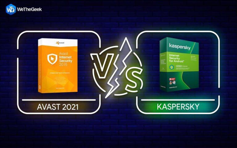 Касперский против Avast 2021    Окончательное сравнение