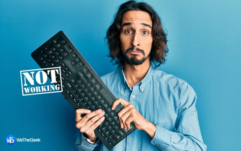 Клавиатура не работает?  Издает звуковой сигнал?  Вот исправление!