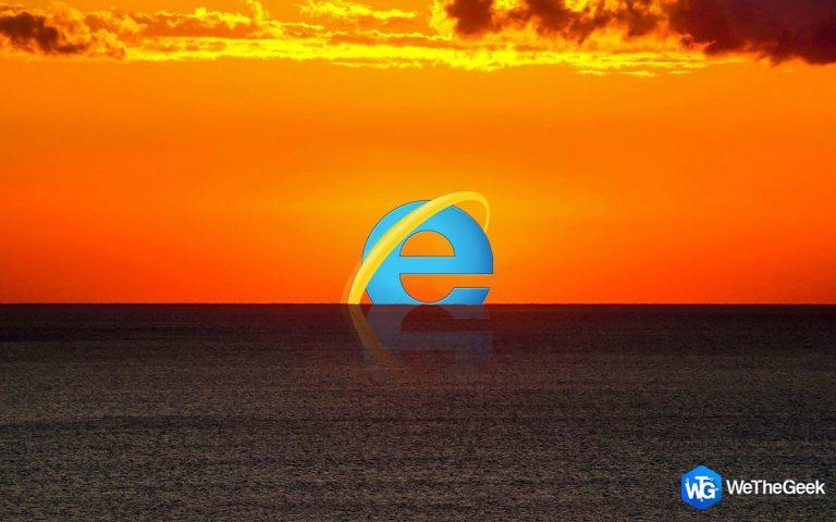 Microsoft прощается с Internet Explorer после 27 лет работы в Интернете