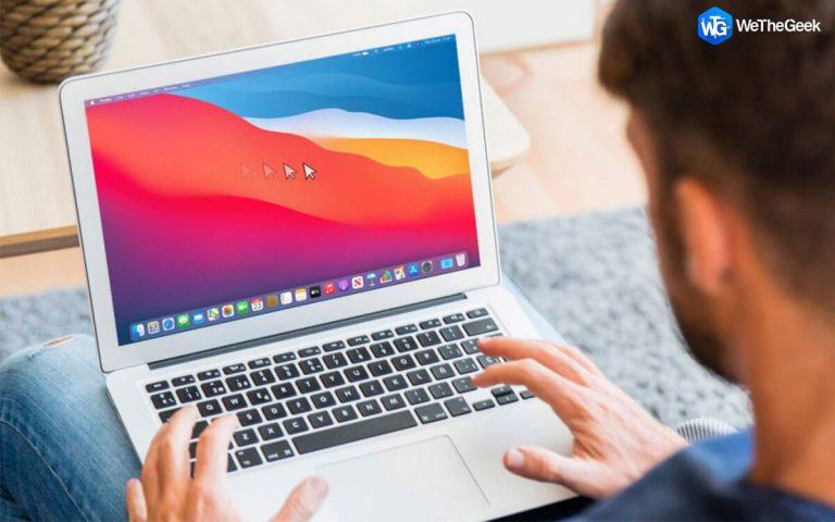 Курсор мыши (указатели) исчезает при выпуске Mac (2021 г.)