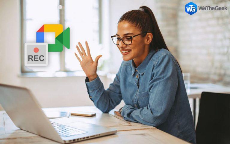 Как записать встречу в Google Meet?  (2021 год)