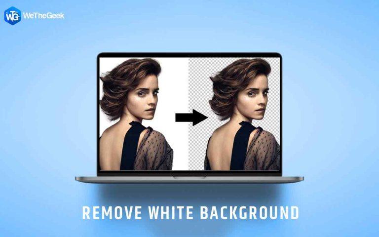 Как удалить белый фон с изображения в Интернете?