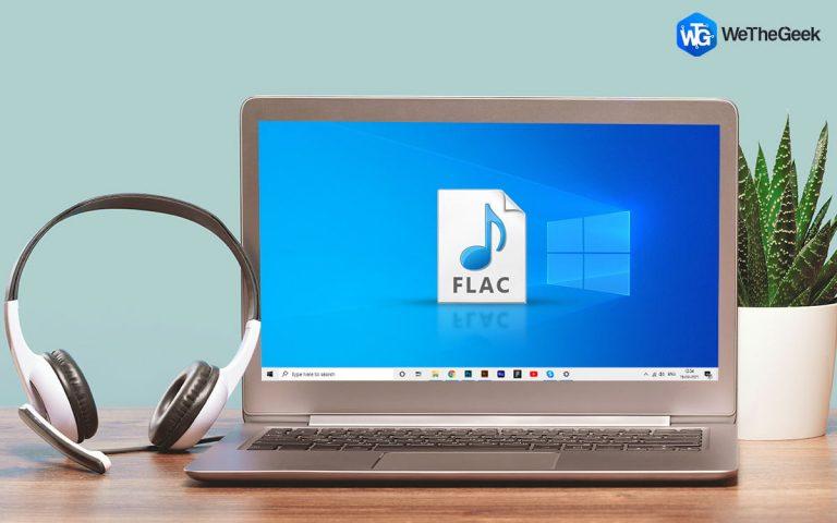 Серьезная ошибка приводит к повреждению аудиофайлов FLAC в Windows 10