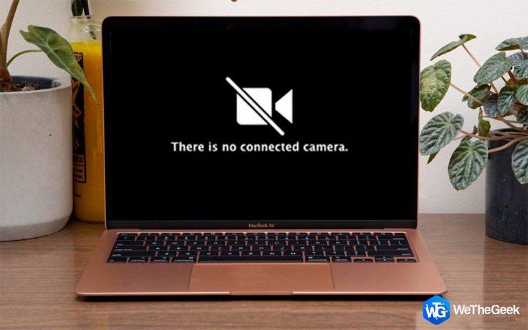 Исправление ошибки «Нет подключенной камеры» с помощью приложения FaceTime для Mac