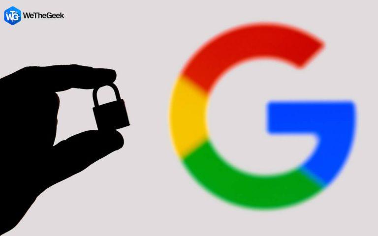 Как защитить паролем историю поиска Google