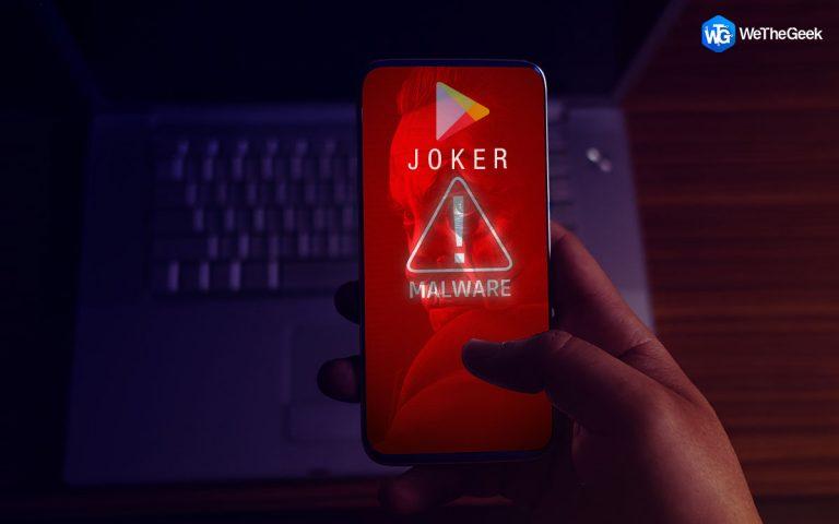 Какое вредоносное ПО Joker влияет на приложения в магазине Google Play?