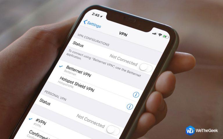 Что такое VPN на iPhone и зачем он вам (2021 г.)