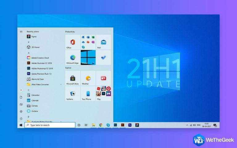 Обновление Windows 10 21H1 — как оптимизировать компьютер, загрузить его и многое другое