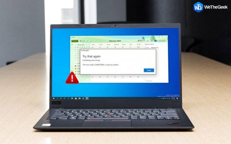Календарь в Windows 10 не работает?  Вот исправление!