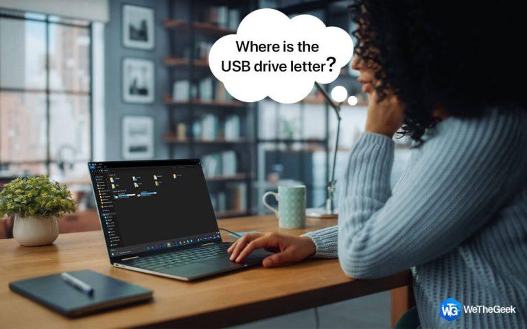 Как исправить, что Windows не назначает букву диска внешнему и USB-накопителю