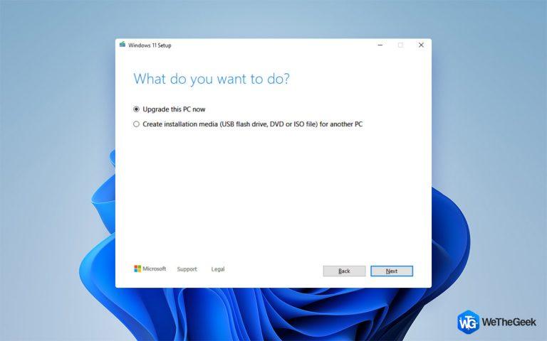 Инструмент создания Windows 11 Media (2021 г.): как его использовать