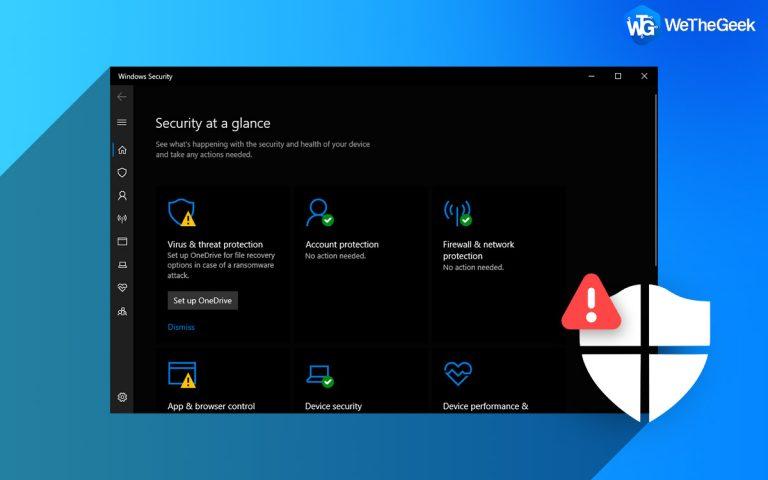 Защитник Windows вызывает ошибку Appleidav.exe?  Вот исправление!
