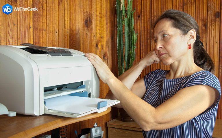 Беспроводной принтер не отвечает в Windows 11/10