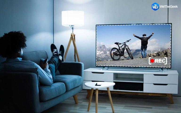 Как записывать телешоу без видеорегистратора?