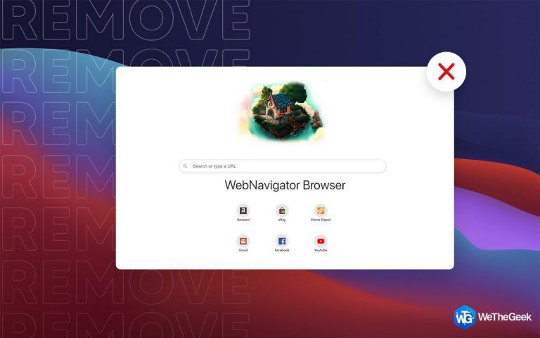Как удалить браузер WebNavigator с Mac (2021)