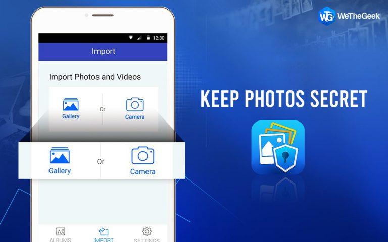 Как использовать секретную камеру в вашем цифровом хранилище, чтобы скрыть фотографии