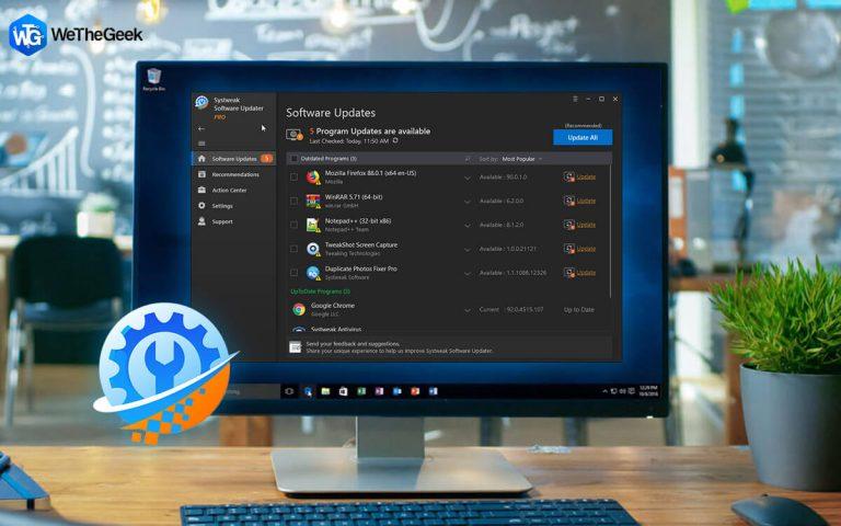 Как проверить наличие обновлений программного обеспечения на ПК с Windows?